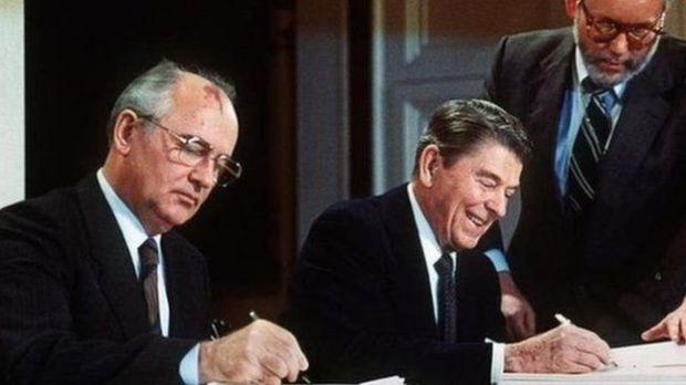 Reagan iyo Gorbachev