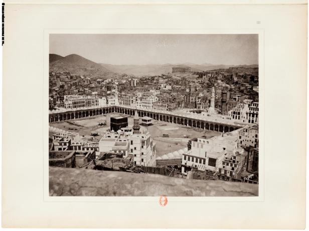 City of Mecca before 100 yrs